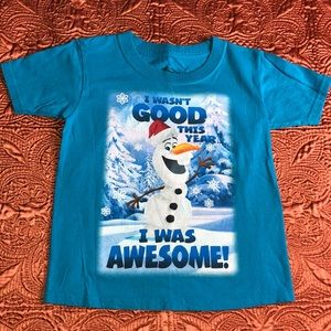 Olaf Frozen Disney Christmas Tee